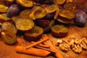 Варенье из слив и грецких орехов на зиму