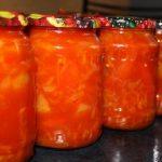 Салат из перца болгарского на зиму