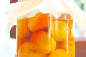 Абрикосы в собственном соку на зиму