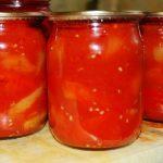 Лечо из перцев и помидоров на зиму