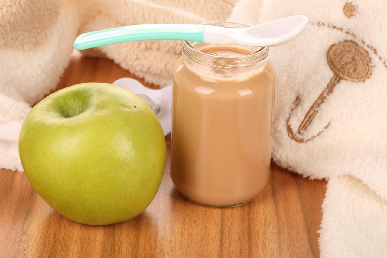 Как сделать яблочное для ребенка